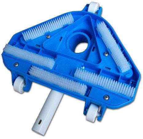Balai triangulaire articul piscinelle accessoires for Balai aspirateur piscine triangulaire