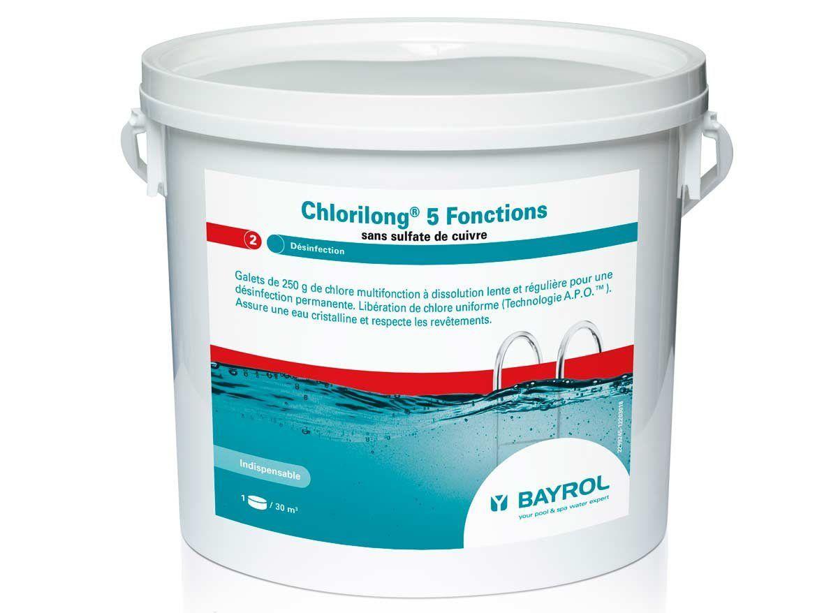chlorilong 5 fonctions 5kg piscinelle accessoires. Black Bedroom Furniture Sets. Home Design Ideas