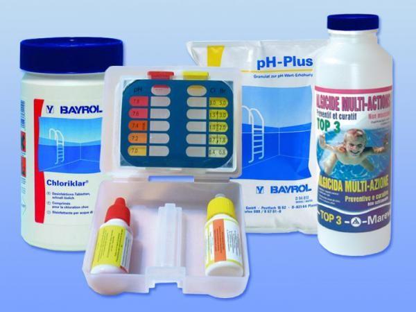 Kit mise en service Aquanelle/pH+ (10 à 35m3)