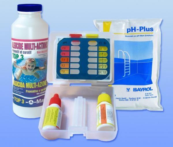 Kit mise en service Brome / pH+ (35 à 100m3)
