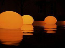 Lampe flottante Solstice