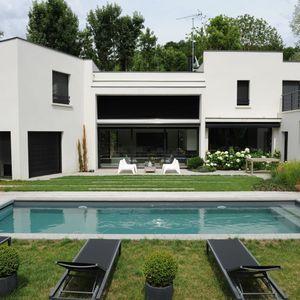 Une piscine Piscinelle installée en Picardie