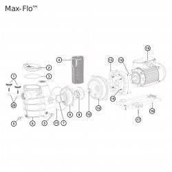 Bouchon de vidange pompe Max Flow Hayward