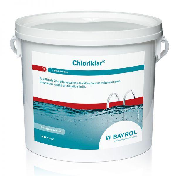 Chlore choc Chloriklar – 5 kg
