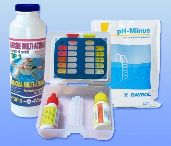 Kit mise en service Brome / pH- (35 à 100m3)