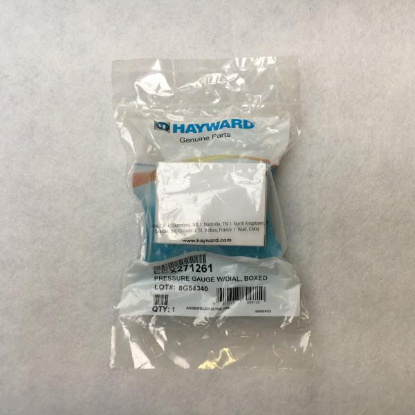 Manomètre filtre sable 10/14 + filtre cartouche Haywar