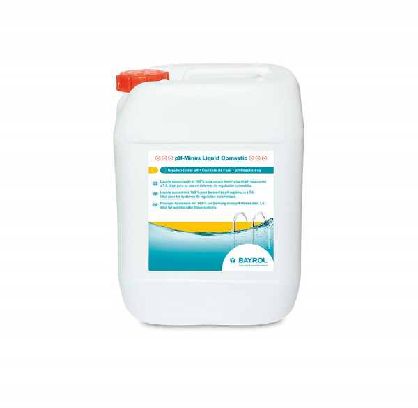 pH minus liquide - bidon de 20L