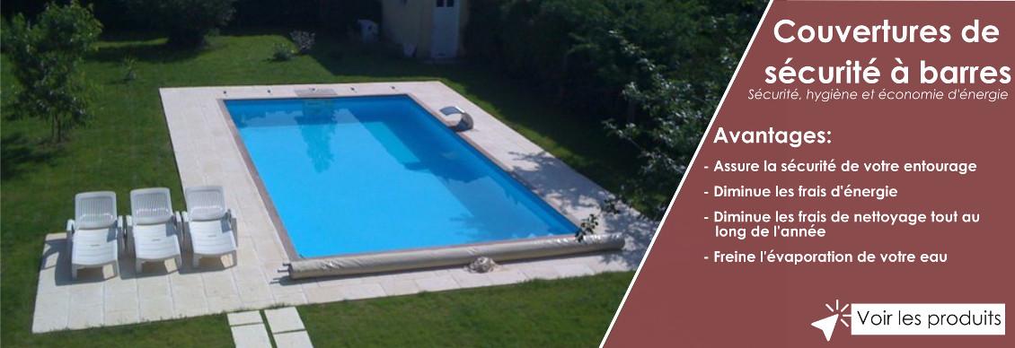 couverture de sécurité de piscine