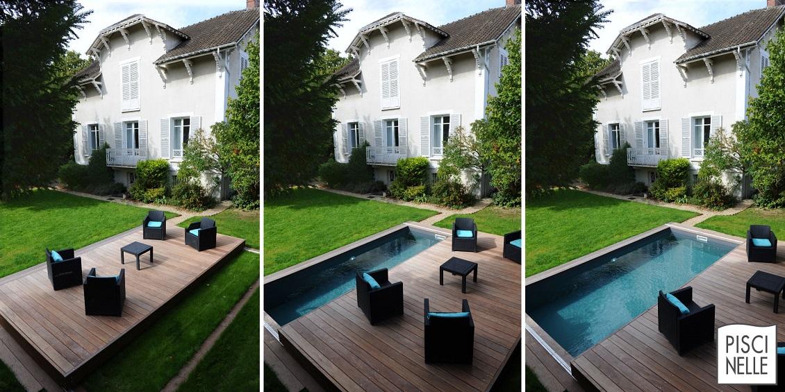 Découvrez la terrasse mobile de piscine et de spa développée par Piscinelle : le Rolling-Deck