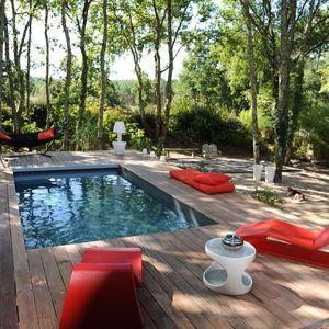 Une piscine Piscinelle installée en Aquitaine